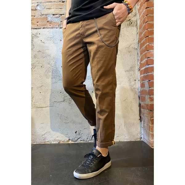 Pantalone jaq marrone