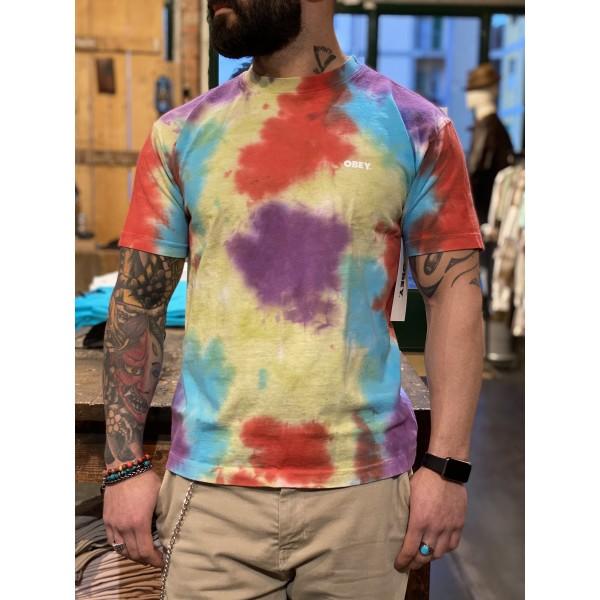 T shirt tye dye obey