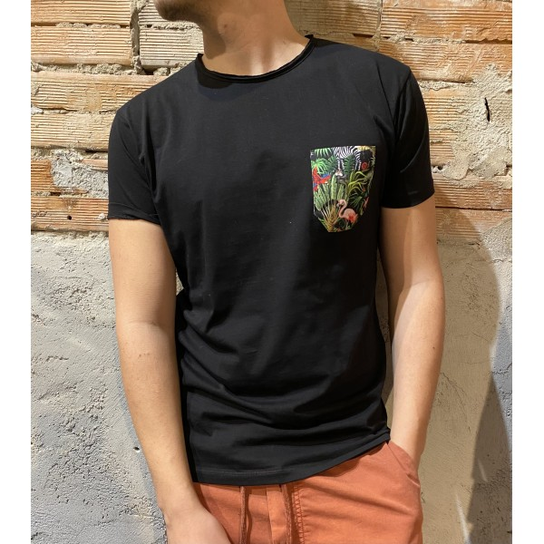 T shirt v2 jungle pocket