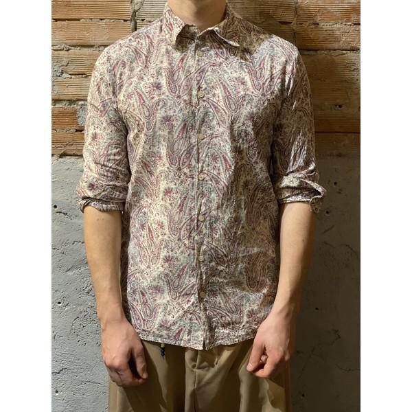 Camicia cotone stampa floreale