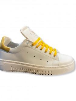 Sneakers white blu