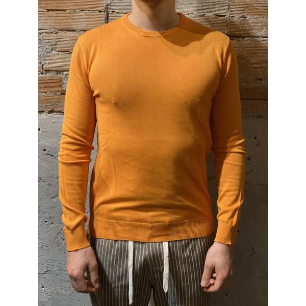 Maglia cotone semplice orange
