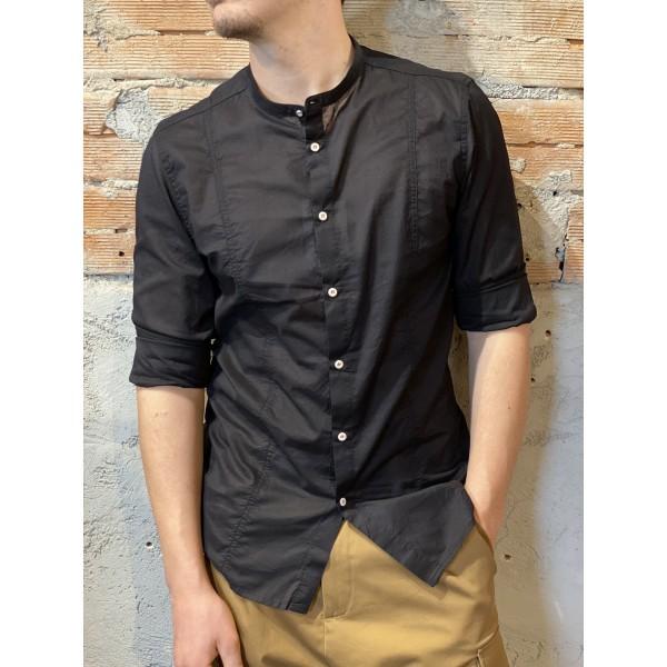 Camicia coreana nero  plt