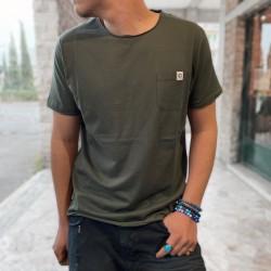 T shirt taschino verde