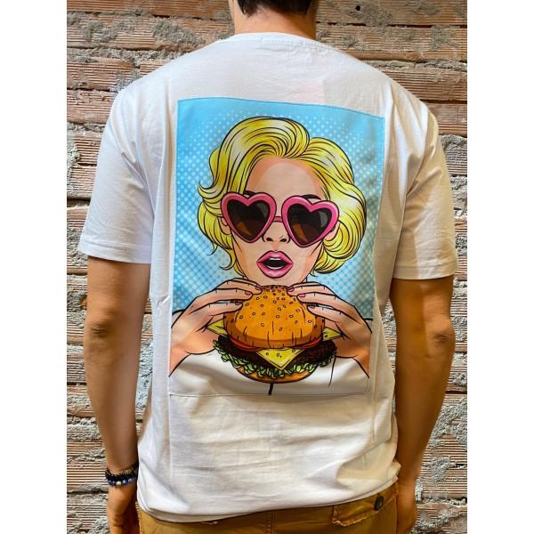 T shirt Hamburger