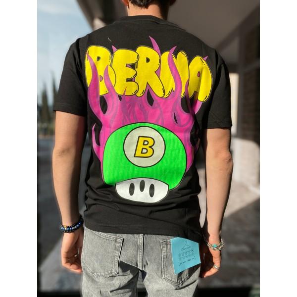 T shirt Berna fungo nera