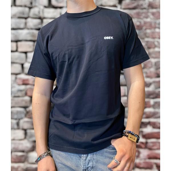 T shirt Obey blk