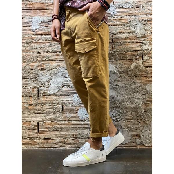 Pantalone opera ocra