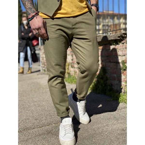 Pantalone imperial verde