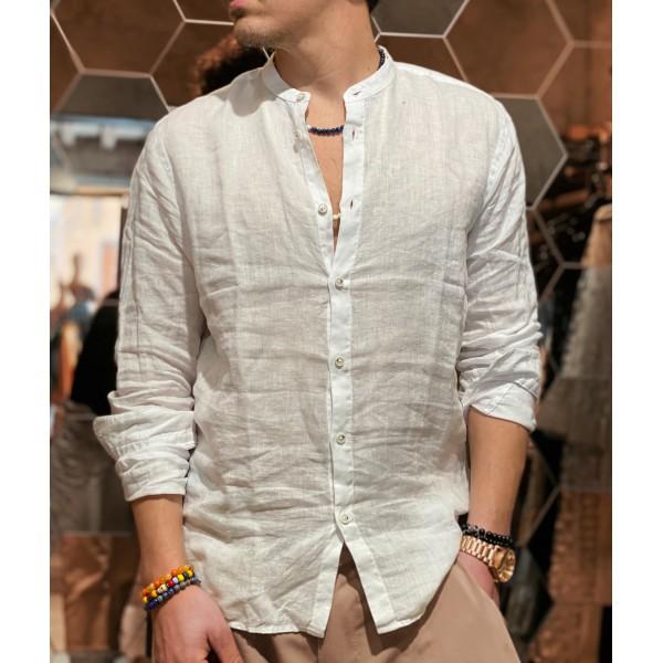Camicia Lino bianco sseinse