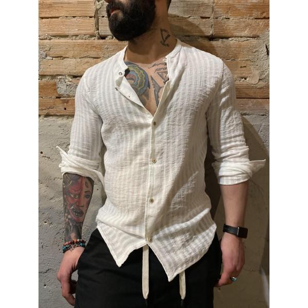 Camicia mussola bianco bl11
