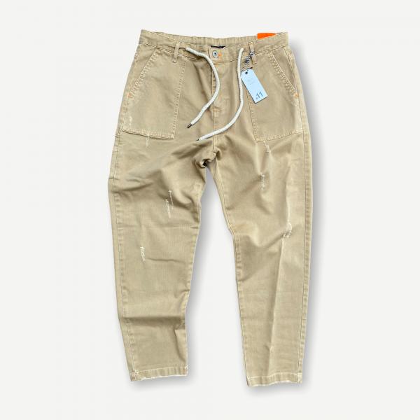 Pantalone tasca fatigue bl11