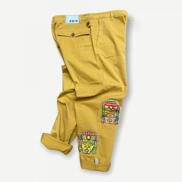 Pantaloni Berna maschere oversize