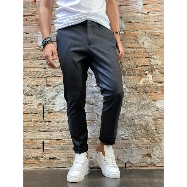 Pantalone spigo grey