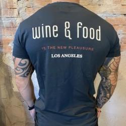 T shirt Berna stampa retro wine