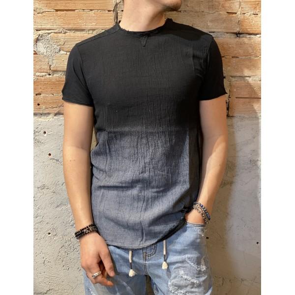 T shirt blk misto lino