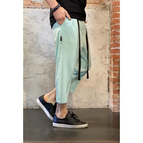 Pantalone jappo azzurro