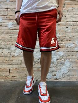 Bermuda basket rosso starter