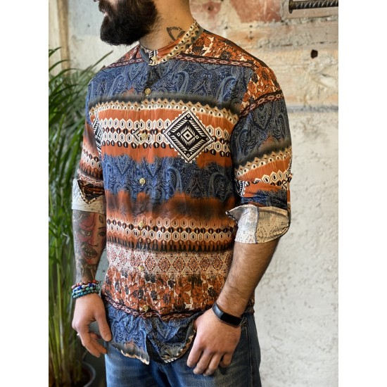 Camicia fantasia mix