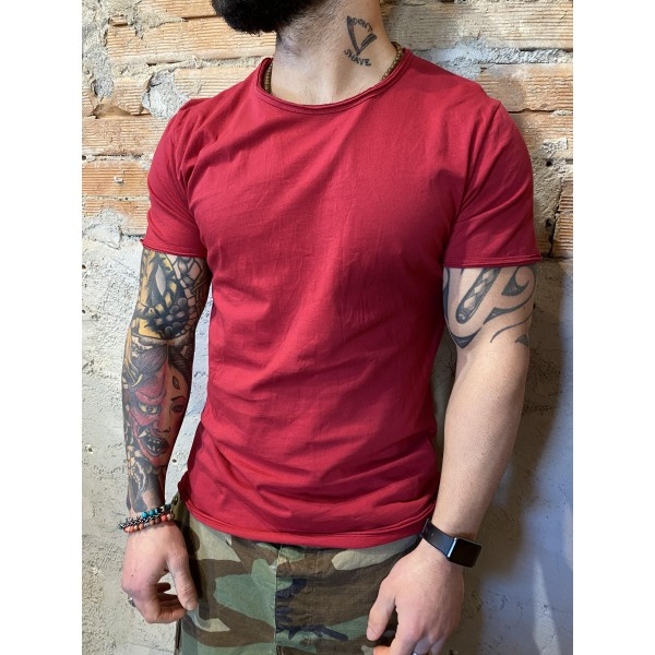 T shirt rosso india