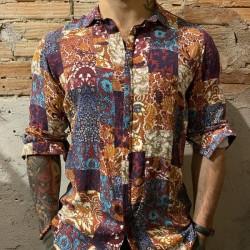 Camicia bl11 fantasia colorata
