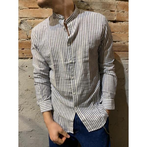 Camicia bacchette blu