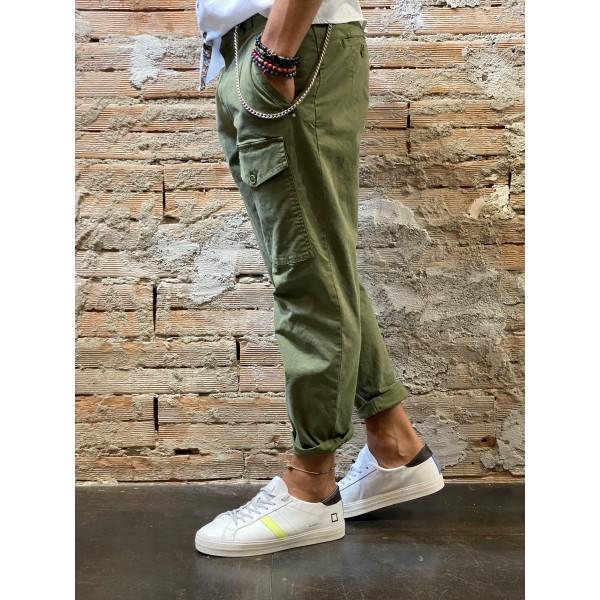 Pantalone opera verde