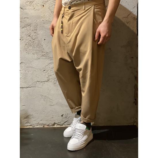 Pantaloni aladin crema