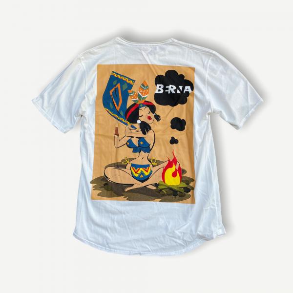 T shirt Berna stampa dietro