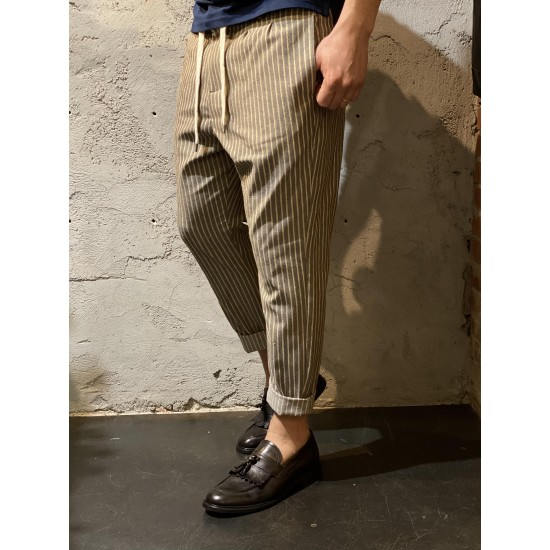 Pantalon a righe imperial