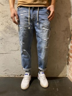 Jogger jeans rotture