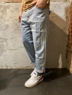 Jogger jeans tasca taglio