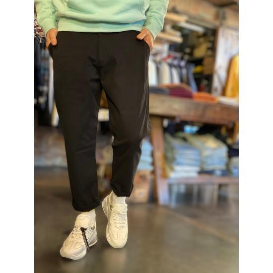 Pantaloni pensa laterale in tessuto premium