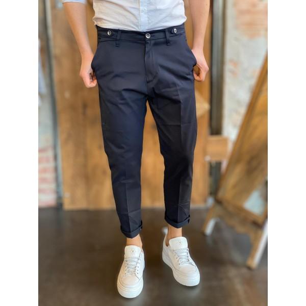 Pantaloni elegance fit blu