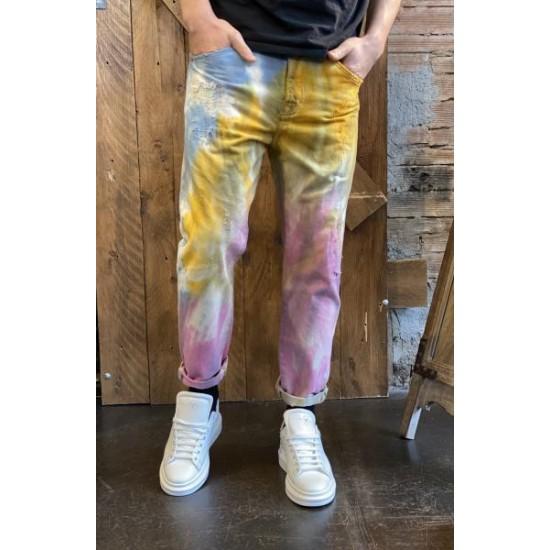Pantalone hippy colours