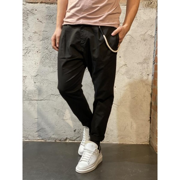 Pantalone carrot fit over d nero