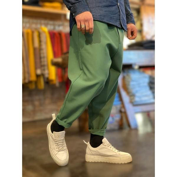 Pantalone jappo verde