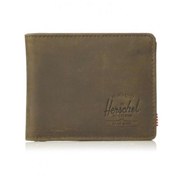 Portafoglio Hershel Brown Leather Coin