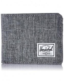Portafoglio Hershel Grey Leather Inside