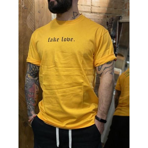 T shirt ocra fake love