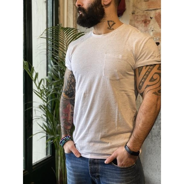 T shirt m lange taschino crema