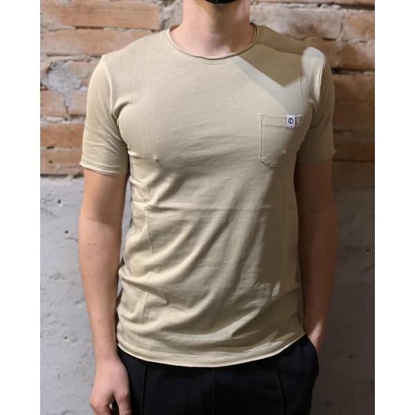 T shirt basic taschino crema