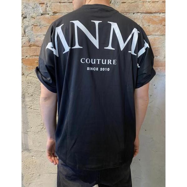 T shirt oversize mnml nera