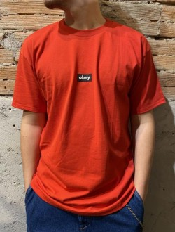 T shirt obey rossa