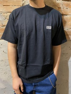 T shirt obey scritta petto nera