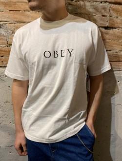 T shirt obey classica bianca