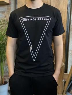 T shirt logo why not nera