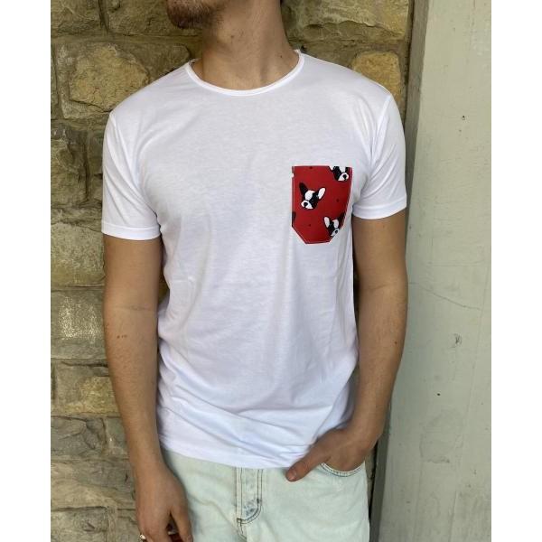 T shirt taschino bouldogue