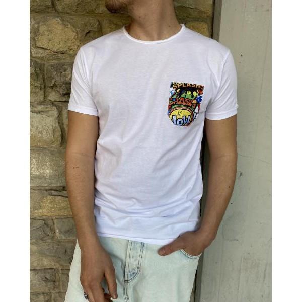 T shirt taschino fumetto