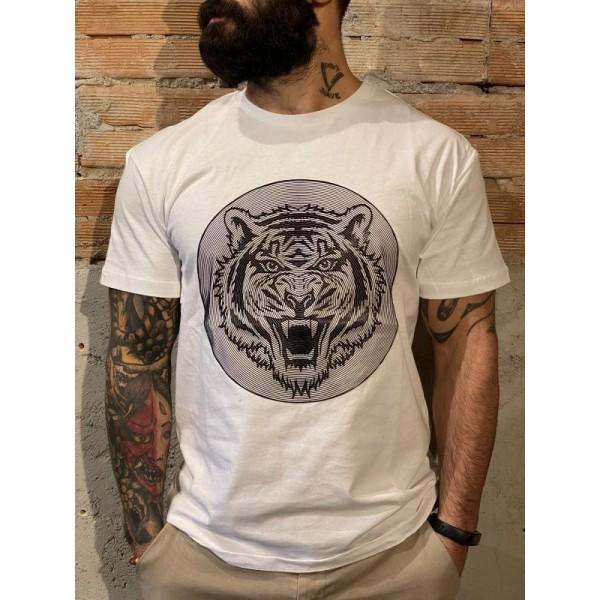 T shirt tigre gomma